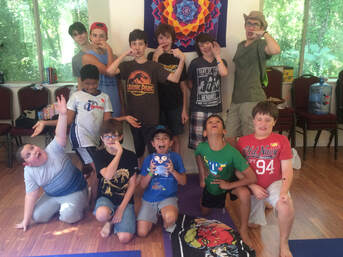 Picture of young boys attending big brother, lil brother: a Camp for Boys with AD/HD